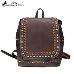 MW765-9110 Montana West Western Collection Backpack