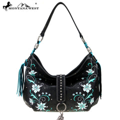 MW769-8318 Montana West Embroidered Collection Hobo