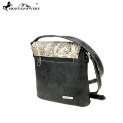 MW773-8360 Montana West Embossed Collection Crossbody