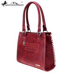 MW774-8250 Montana West Aztec Collection Satchel