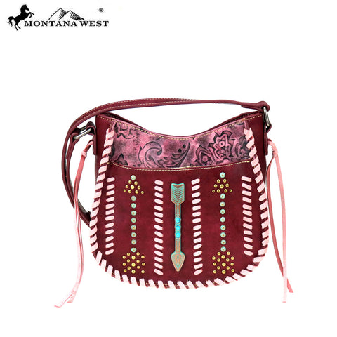 MW774-8360 Montana West Aztec Collection Crossbody