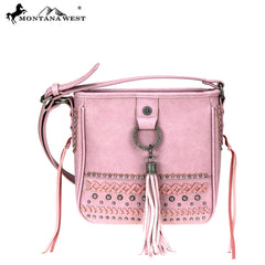 MW777-8360 Montana West Fringe Collection Crossbody