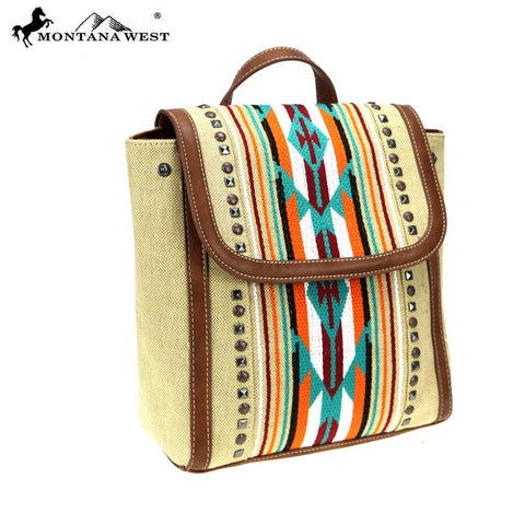 MW779-9110 Montana West Aztec Collection Backpack