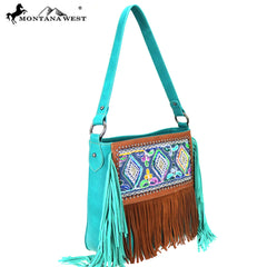 MW781-121 Montana West Fringe Collection Hobo