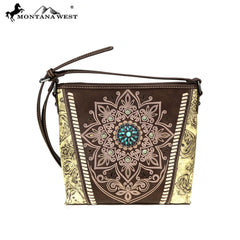 MW784-8360 Montana West Concho Collection Crossbody