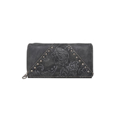 MW785-W010 Montana West Tooled Collection Wallet