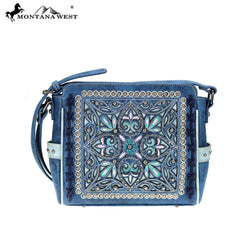 MW786-8360 Montana West Embroidered Collection Crossbody