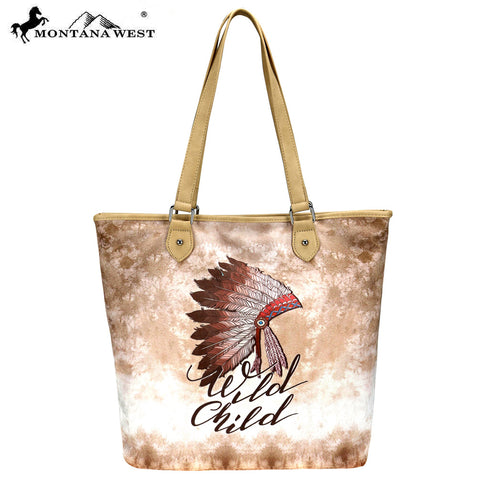 MW787-9318 Montana West Native American Collection Tote