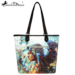 MW789-9318 Montana West Native American Collection Tote