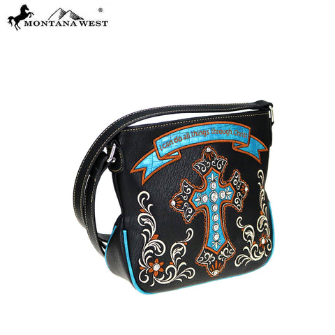 MW798-8295 Montana West Scripture Bible Verse Collection Crossbody