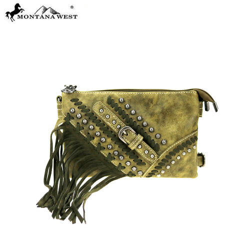 MW801-810 Montana West Fringe Collection Crossbody /Waist Fanny Pack