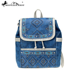MW808-9110 Montana West Aztec Collection Backpack