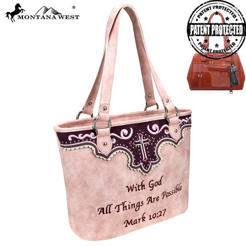 a3d60830c40 MW809G-8317 Montana West Spiritual Collection Concealed Carry Tote