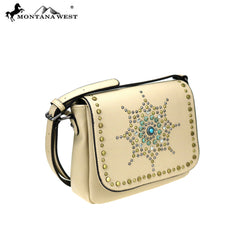 MW810-8360 Montana West  Aztec Collection Crossbody Bag
