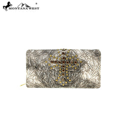 MW811-W010 Montana West Spiritual Collection Wallet