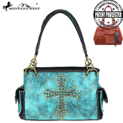 MW811G-8085  Montana West Spiritual Collection Concealed Carry Satchel