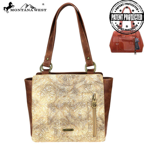 MW811G-8250  Montana West Spiritual Collection Concealed Carry Tote