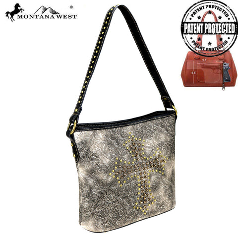 MW811G-918  Montana West Spiritual Collection Concealed Carry Hobo