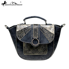 MW815-8188 Montana West Embossed Collection Shoulder Bag/Crossbody