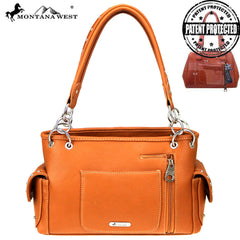 MW820G-8085 Montana West Buckle Collection Concealed Carry  Satchel