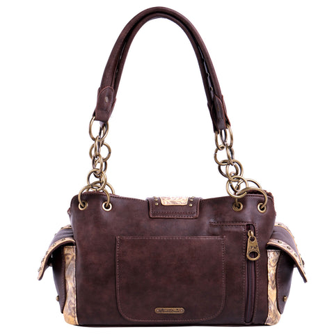 MW823G-8085 Montana West Buckle Collection Concealed Carry Satchel