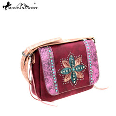 MW825-8360 Montana West Concho Collection Crossbody