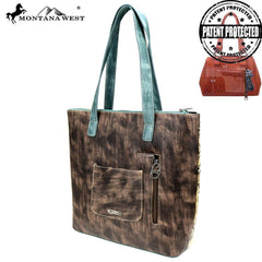 MW825G-8113 Montana West Concho Collection Concealed Carry Tote