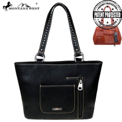 MW843G-8317 Montana West Horse Collection Concealed Carry Tote