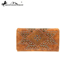MW854-W010 Montana West Aztec Collection Wallet