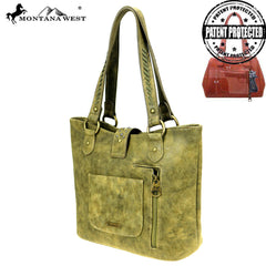 MW854G-8317  Montana West Aztec Collection Concealed Carry Tote