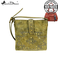 MW854G-9360  Montana West Aztec Collection Crossbody Bag
