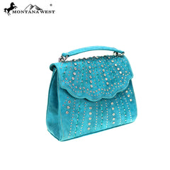 MW858-8360 Montana West Bling Bling Collection Sacthel/Crossbody
