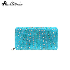 MW858-W010 Montana West Bling Bling Collection Wallet