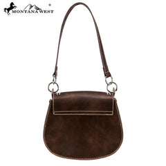 MW859-8360 Montana West Safari Collection Saddle Bag