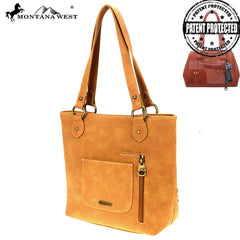 MW864G-8317  Montana West Aztec Collection Concealed Carry Tote