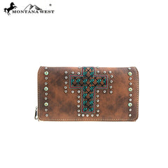 MW866-W010 Montana West Cactus Collection Wallet