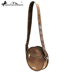 MW867-118 Montana West Bling Bling Collection Western Canteen Bag