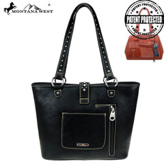 MW870G-8014 Montana West Buckle Collection Concealed Carry Tote