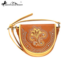 MW877-8360 Montana West Embroiderd Collection Crossbody