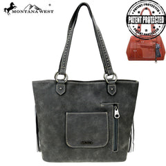 MW880G-8317  Montana West Concho Collection Concealed Carry Tote