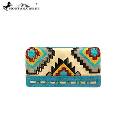 MW883-W010 Montana West Aztec Collection Wallet