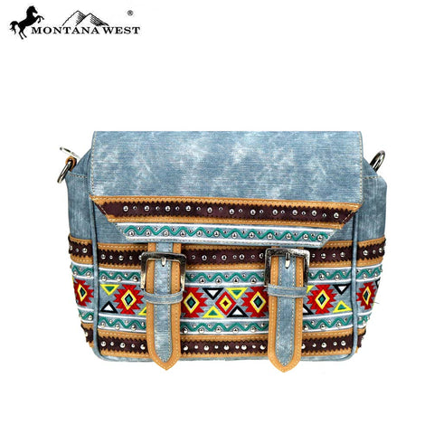 MW885-8511 Montana West Aztec Collection Crossbody/Backpack
