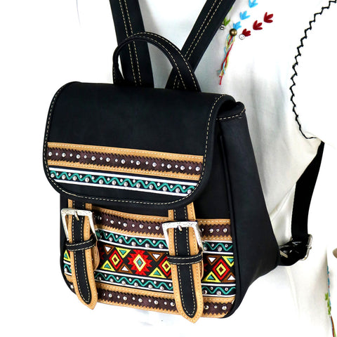 MW885-9110 Montana West Aztec Collection Backpack