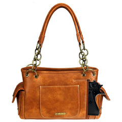 MW886G-8085  Montana West Embossed Collection Concealed Carry Satchel