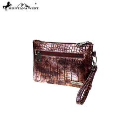 MW887-181 Montana West Safari Collection Clutch