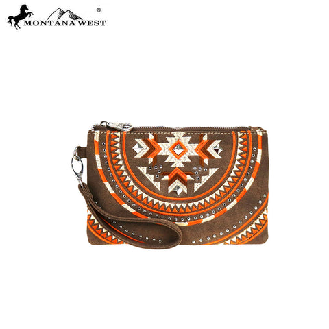 MW889-181 Montana West Aztec Collection Clutch