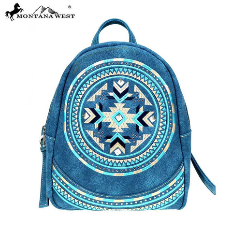 MW889-9110 Montana West Aztec Collection Backpack