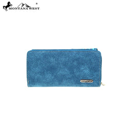 MW889-W010 Montana West Aztec Collection Wallet