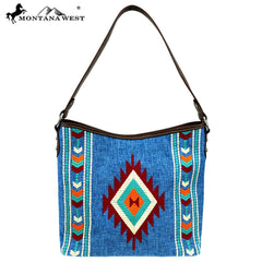 MW891-918 Montana West Aztec Collection Hobo