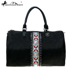 MW897-5110 Montana West Aztec Collection Duffle Bag